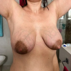 Large tits of my wife - Claudia