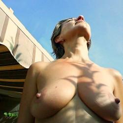 Large tits of my girlfriend - Juana