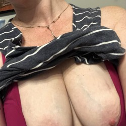 Medium tits of my girlfriend - Ginger