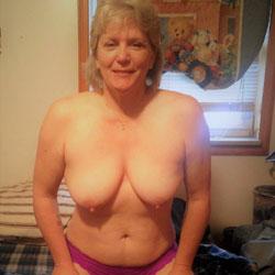 Long nipples saggy tits mature