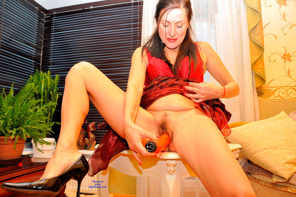Pic #1My Sweet Hairy Cunt - Nude Wives, Brunette, Toys, Bush Or Hairy, Amateur, Women Using Dildos