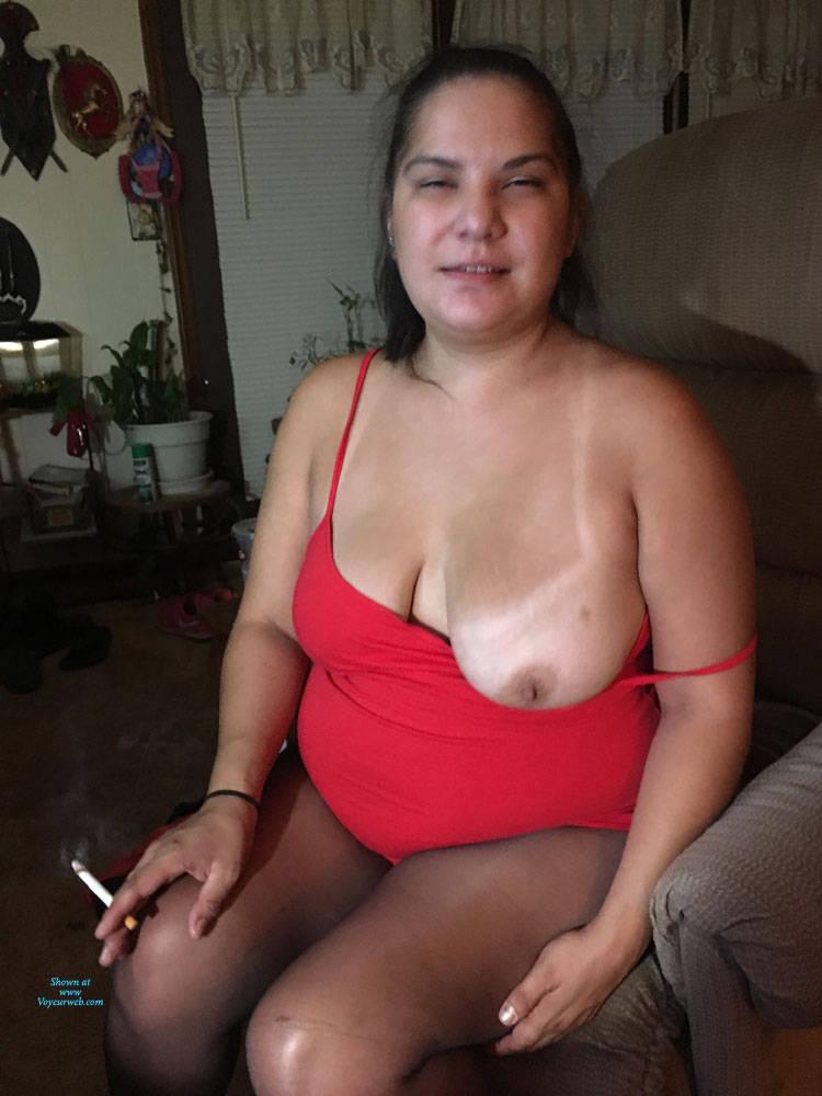 Pic #1 Sexy Girlfriend 2 - Big Tits, Brunette, Lingerie, Amateur, Gf
