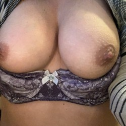 Large tits of my wife - Anastasia