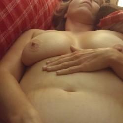 Medium tits of my wife - Sarah