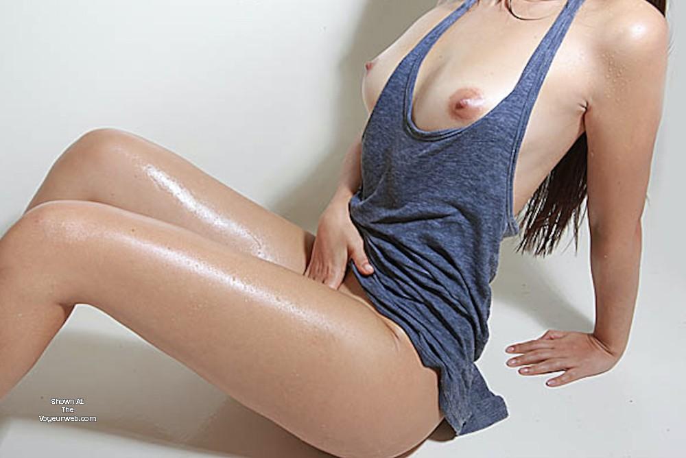 Wife sweaty tits