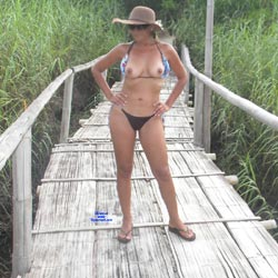 LuLu At The Beach - Beach, Mature, Outdoors, Amateur, Wife/wives