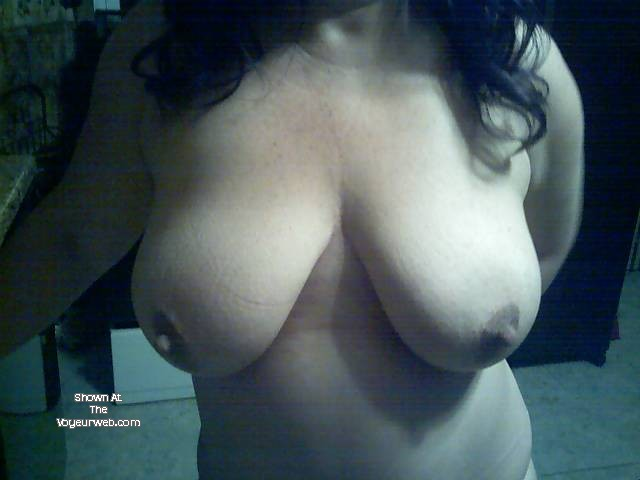 Pic #1 Large tits of my wife - anna m