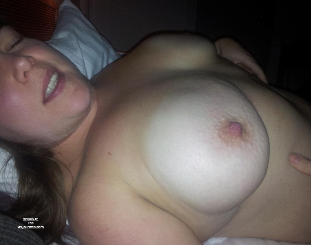 Pic #1 Large tits of my wife - Anna W