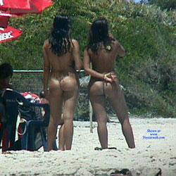 Tambaba Beach, Brazil - Nude Girls, Beach, Brunette, Outdoors, Beach Voyeur