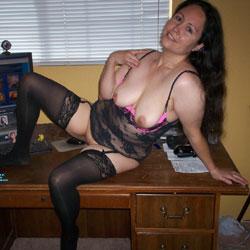 Pussykat's Sexy Lingerie Set - 3 - Big Tits, Brunette, Lingerie, Amateur