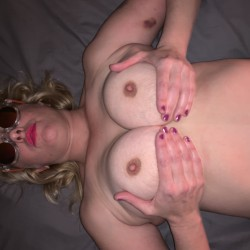 Large tits of my wife - Carey!!!!!!