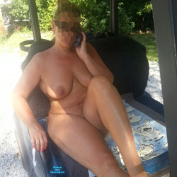 Golf Cart Spread - Nude Girls, Big Tits, Mature, Outdoors, Shaved, Amateur