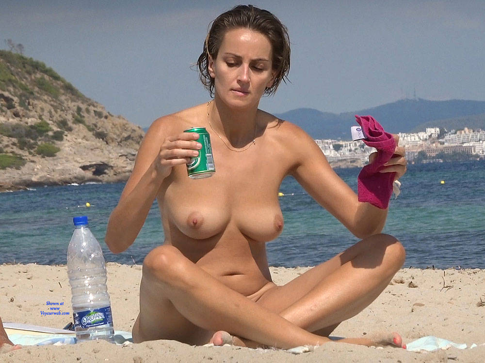 Pic #1Nice Shapes - Nude Girls, Beach, Big Tits, Brunette, Outdoors, Beach Voyeur