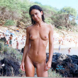 Little Beach Maui - Nude Girls, Beach, Brunette, Outdoors, Amateur