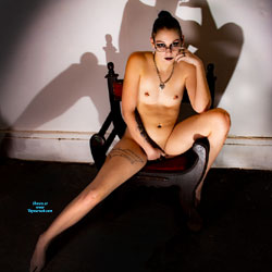Her Body and Her Shadow - Brunette Hair, Chair, Full Nude, Natural Tits, Navel Piercing, Nipples, Shaved Pussy, Small Tits, Tattoo, Hot Girl, Nude Amateur, Sexy Body, Sexy Face, Sexy Figure, Sexy Girl, Sexy Legs, Amateur , Nude, Natural Tits, Small Ass, Shaved Pussy, Chair