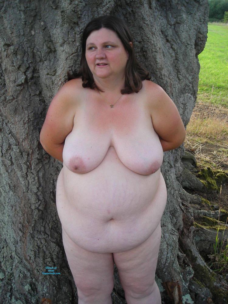 Tanya Naked Outdoors At Funbags-5792