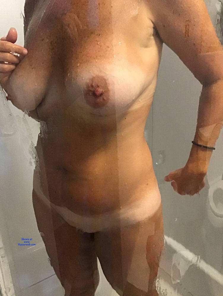 Pic #1 Shower Time - Big Tits, Mature, Amateur, Wet Tits