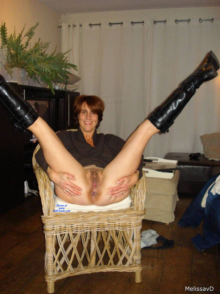 Pic #1Chair - Pantieless Girls, Redhead, Bush Or Hairy, Amateur, Legs Spread Wide Open, Mature