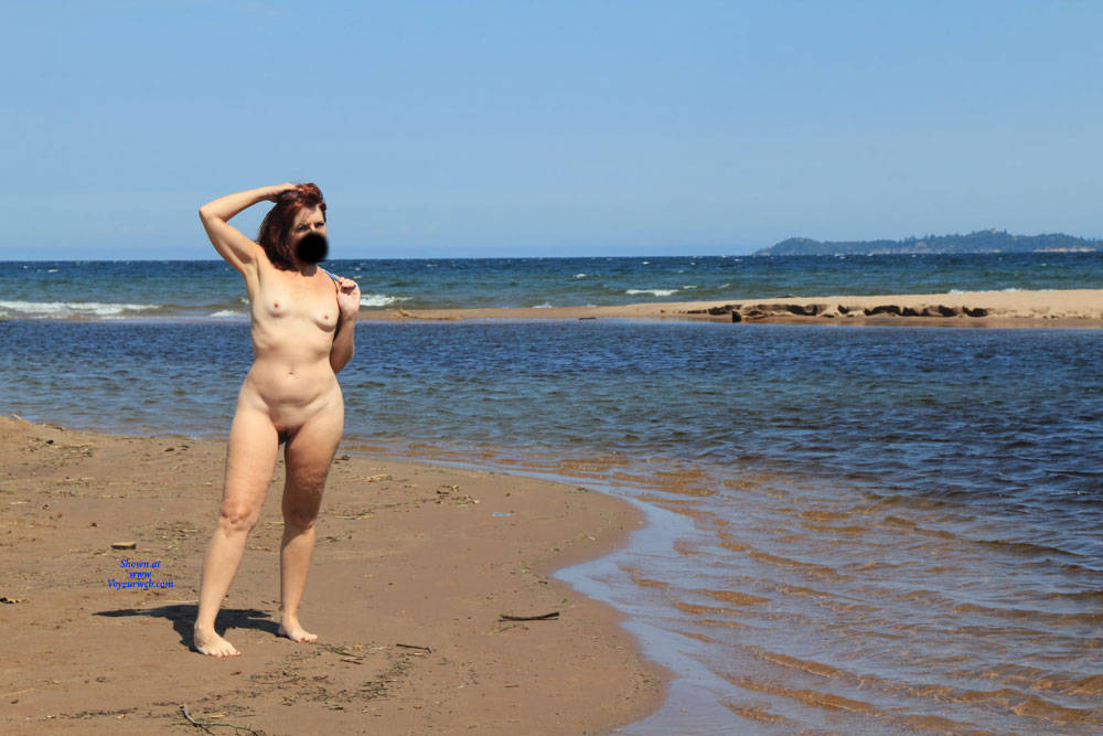 Pic #1 Lifes A Beach, With Tesa - Nude Girls, Beach, Mature, Outdoors, Redhead, Small Tits, Shaved, Amateur