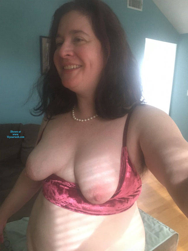 Pic #1 Asked To Take My Tits Out - Big Tits, Brunette, Mature, Amateur