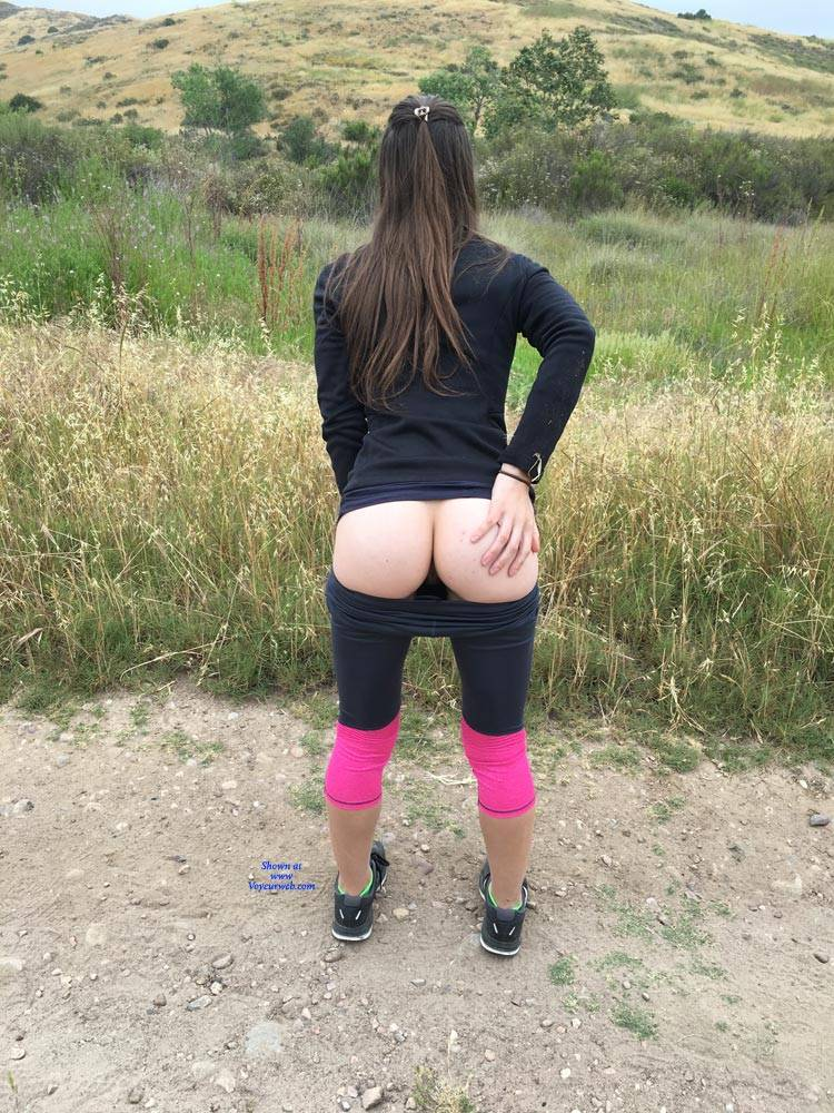 Pic #1 Outdoor Hike - Brunette, Outdoors, Amateur