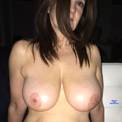 Michelle 34DD - Getting Better With Age - Big Tits, Brunette, Mature, Amateur
