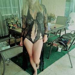 First Time - Lingerie, See Through, Amateur, Outdoors