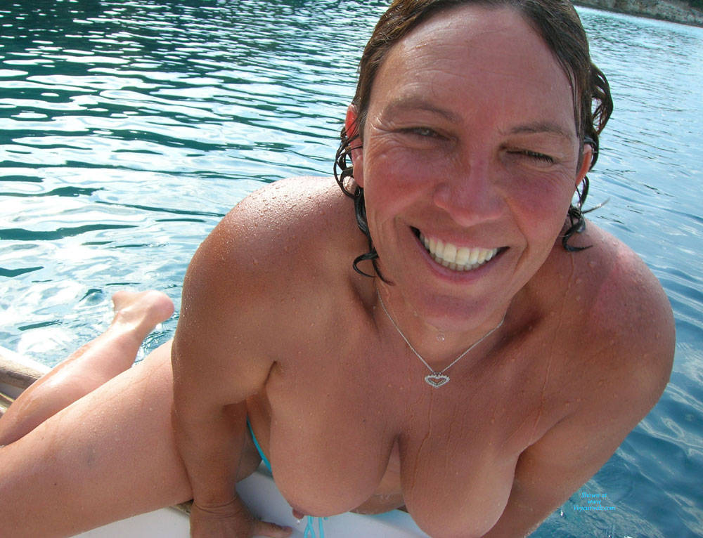 Pic #1 Lani Topless Outdoors - Topless Girls, Big Tits, Mature, Outdoors, Amateur