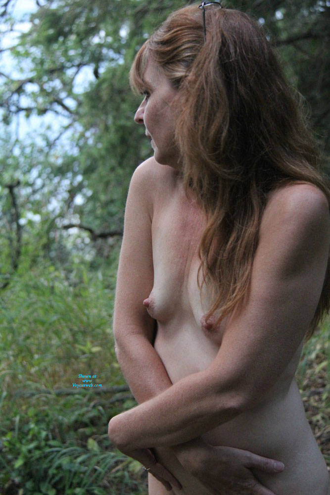 Pic #1 Just My Titties - Mature, Outdoors, Small Tits, Amateur, Natural Tits