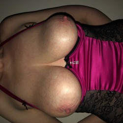 Large tits of my wife - Mystery Girl