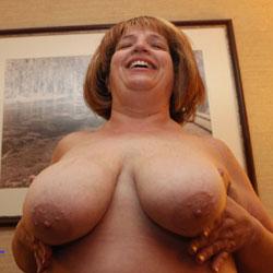BBW Sandy's Big Tits - Bbw, Big Tits, Mature, Redhead, Amateur, Wife/wives