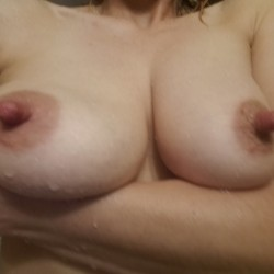 Large tits of my wife - Sheila