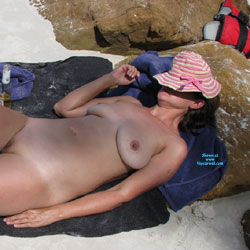 Mother Of 3 - Some Other Beach Photos - Nude Amateurs, Beach, Big Tits, Mature, Outdoors