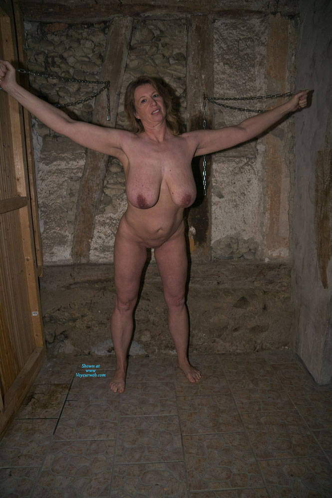 Pic #1 Anne In The Dungeon - Nude Amateurs, Big Tits, Brunette, Mature