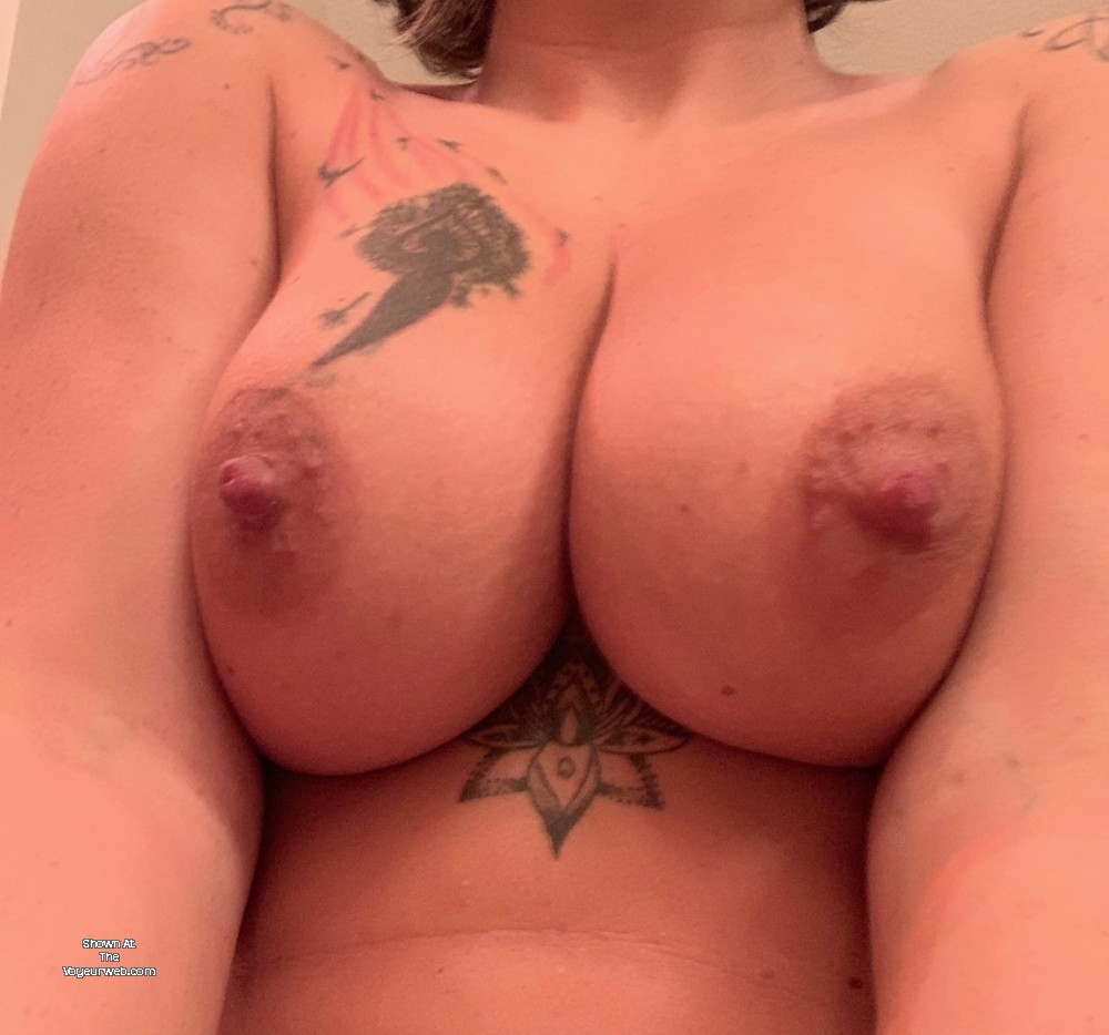 Pic #1 Large tits of my wife - SweetKris