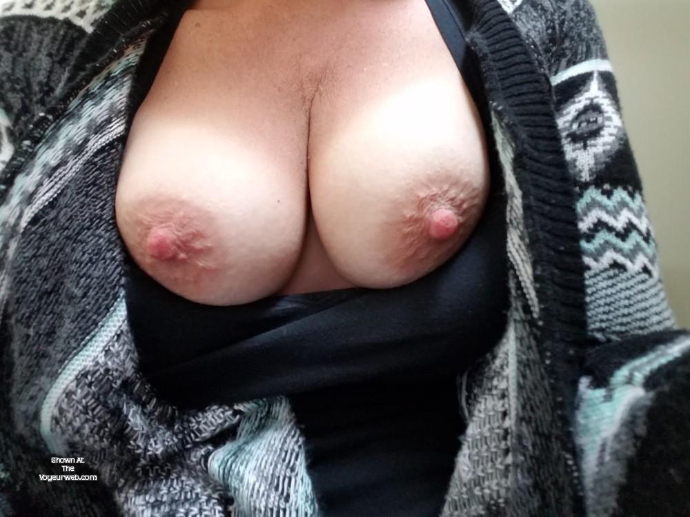 Pic #1 Medium tits of my wife - Denco
