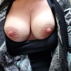 Medium tits of my wife - Denco