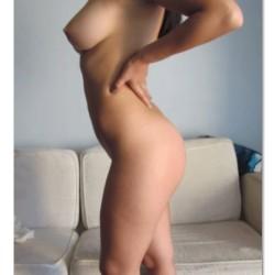 Medium tits of a co-worker - Valentina