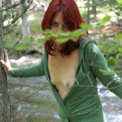 Tesa, Wood Nymph 2 - Nude Girls, Outdoors, Redhead, Small Tits, Nature, Amateur