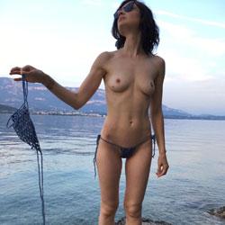 Naked On A Rock