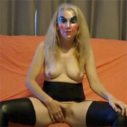 Tilly Lets Vibrator Out And Cums