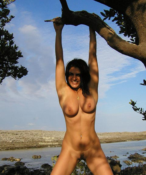 Dark Hair - Dark Hair, Huge Tits, Nude Outdoors , Dark Hair, Large Boobs, Nude Outdoors, Hang, Large Firm Breasts, Well Formed And Rounded Knockers, Big Aerolas With Little Nips
