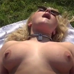 Young Zoey Outdoor BJ, Anal (ATM) And Cum Swallow