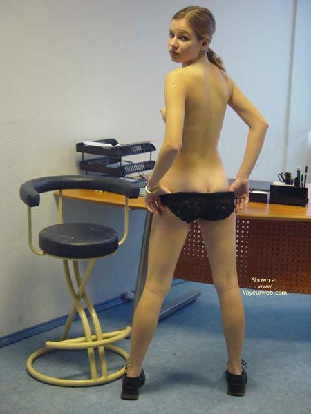 Pic #1 Sex On The Office Desk