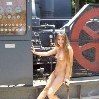 Amber  In The Texas Oil Fields!