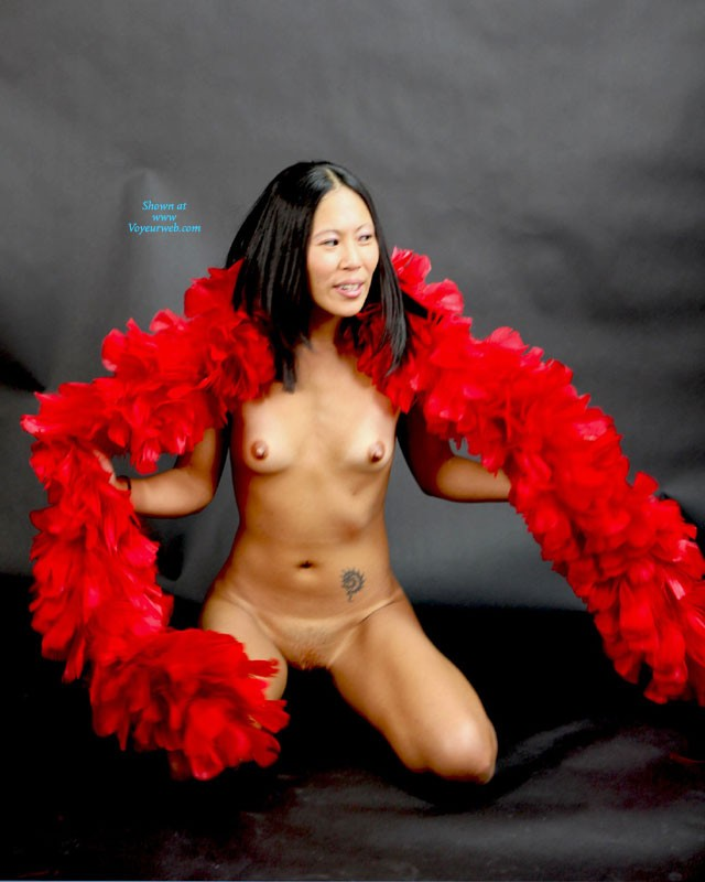 Her First Time - Asian Girl, Brunette Hair , She Wanted To Give Modeling A Try.