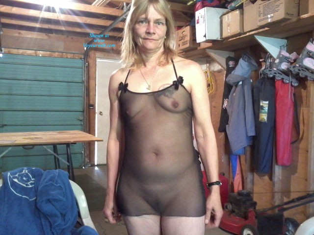 Pic #1In The Garage - Lingerie, Mature