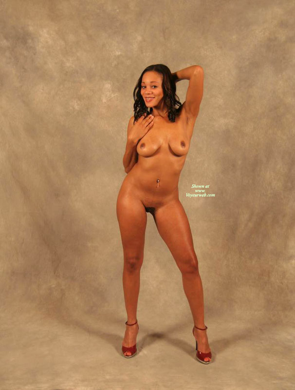Black Milf - Black Hair, Hairy Bush, Heels, Long Hair, Milf, Naked Girl, Nude Amateur , Full Frontal Studio Nude In High Heels, Red High Heels, Full Frontal, Curved Boobs, Pierced Belly, Pierced Belly Button, Ebony Skin, Medium-sized Breasts