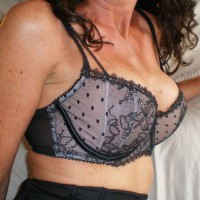 Wife In Undewear , Ann Loves Wearing Sexy Lingerie And Showing It Off In Public For All To See