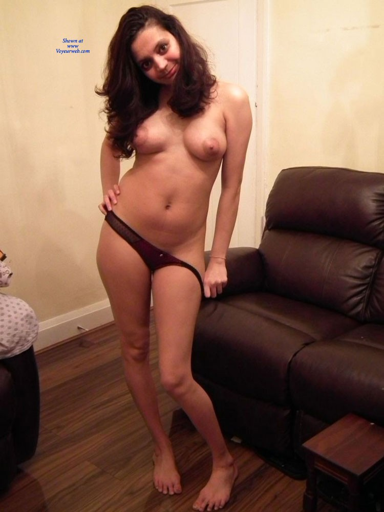 My Wife Diya Posing Nude In The Living Room - January -7425